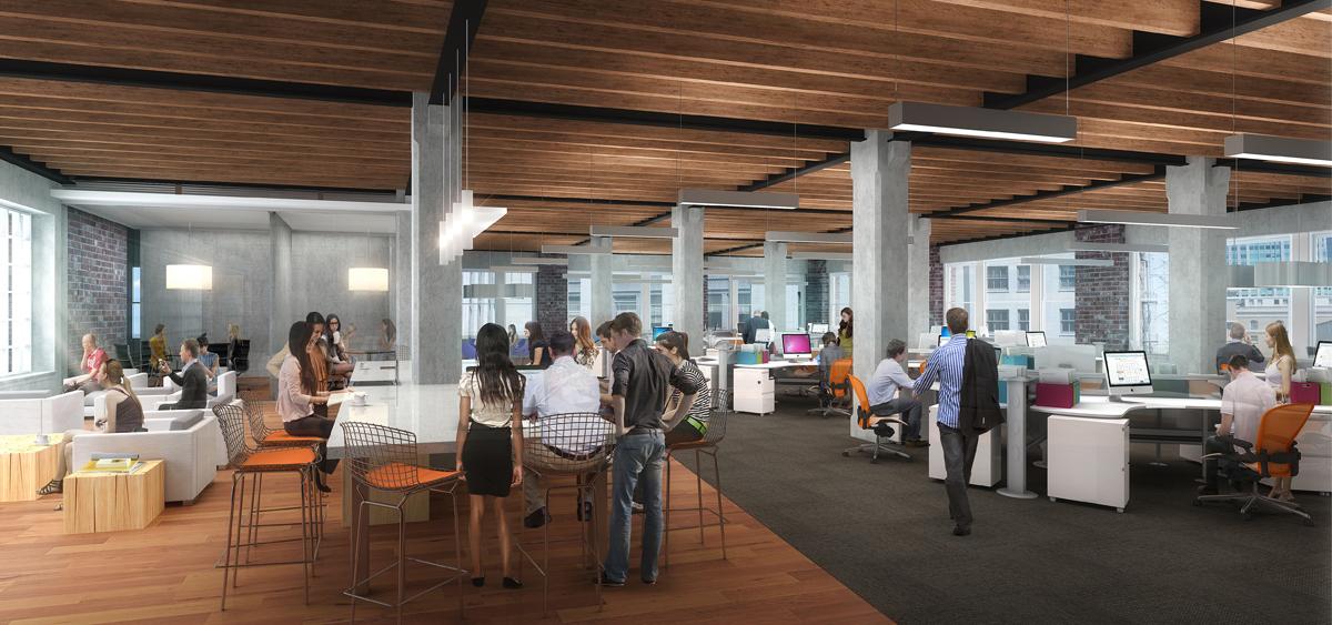26 Third San Francisco office digital rendering