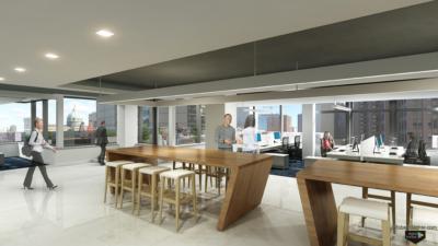 photorealistic workplace renderings