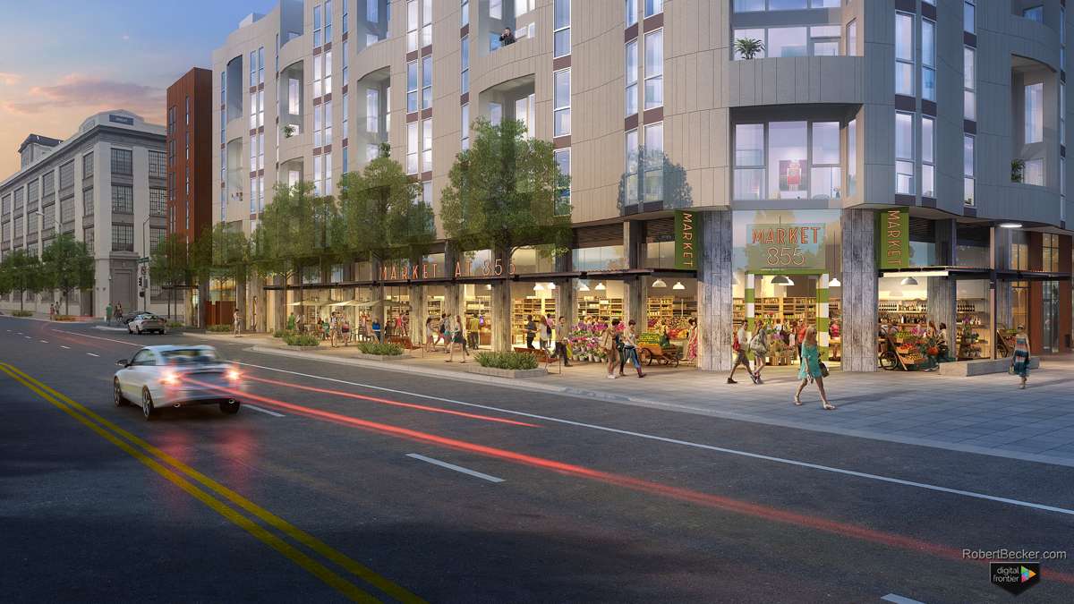 855 Brannan San Francisco Market digital rendering