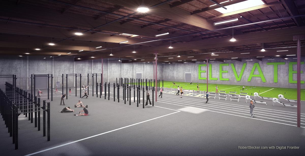 AthleticTrainingCenter rendering