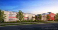 American High School rendering