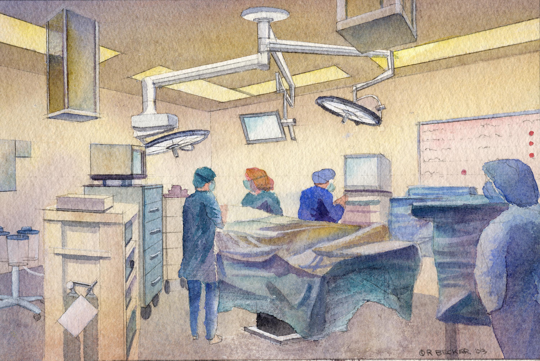 CPMC operating room rendering