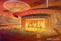 Carnival cruise ship lounge rendering