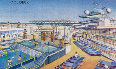 Carnival cruise ship pool rendering