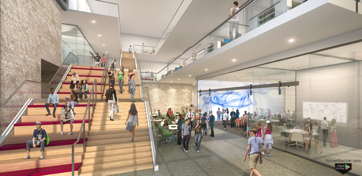 DREB Lobby rendering