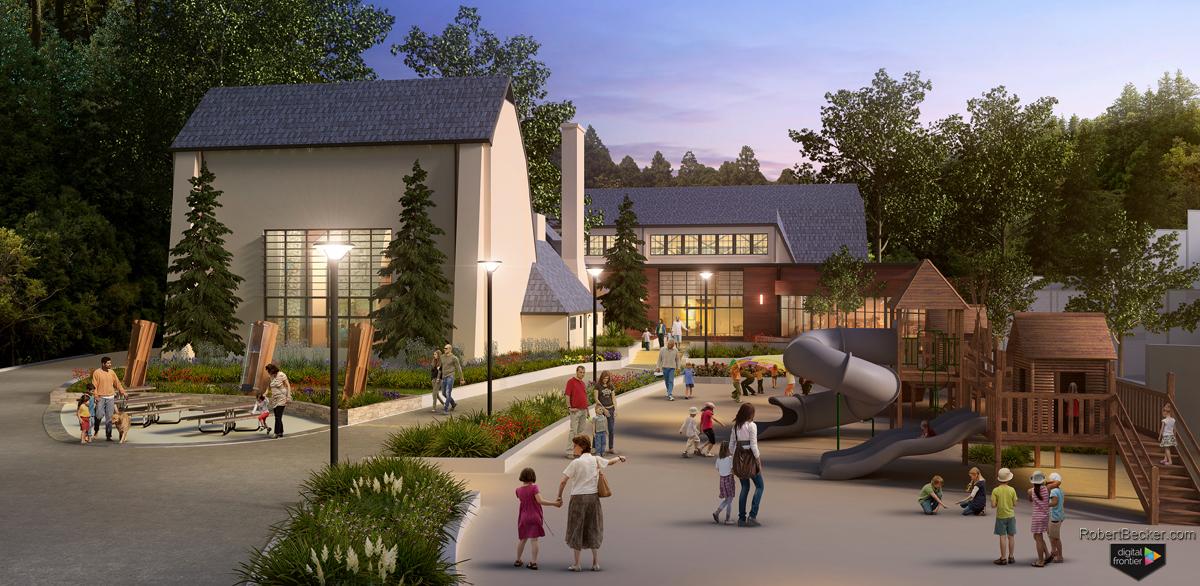 Glen Canyon Recreation Center San Francisco rendering