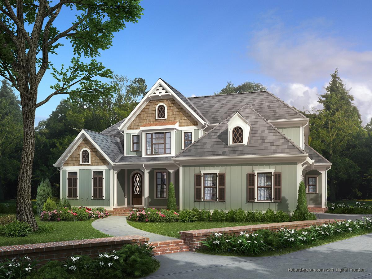 Hanley Wood Autumn residential rendering