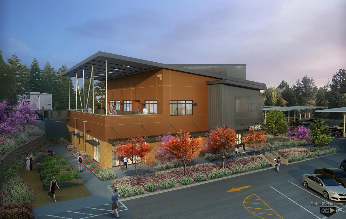 Martinez VA building rendering