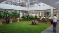photorealistic workplace renderings