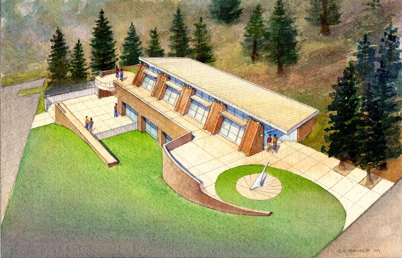 RSK_CSU_Humboldt_SERC_Architectural_Rendering_Watercolor