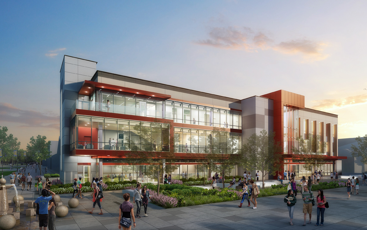 SJSU Student Health Center rendering