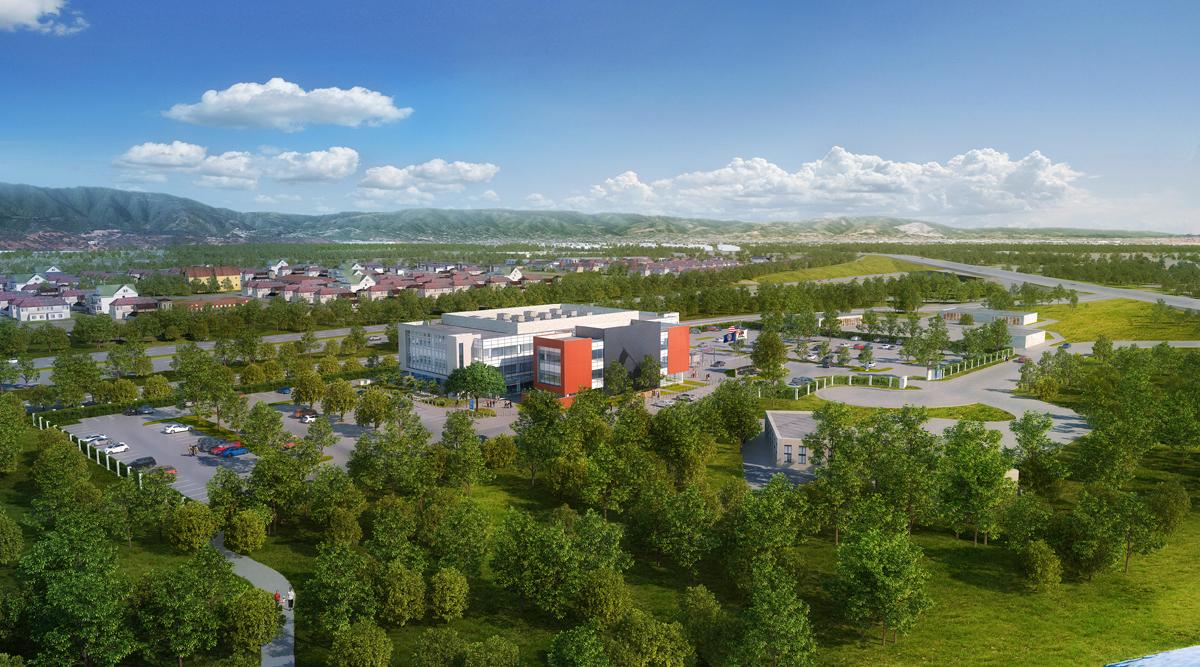 San Jose VA aerial rendering