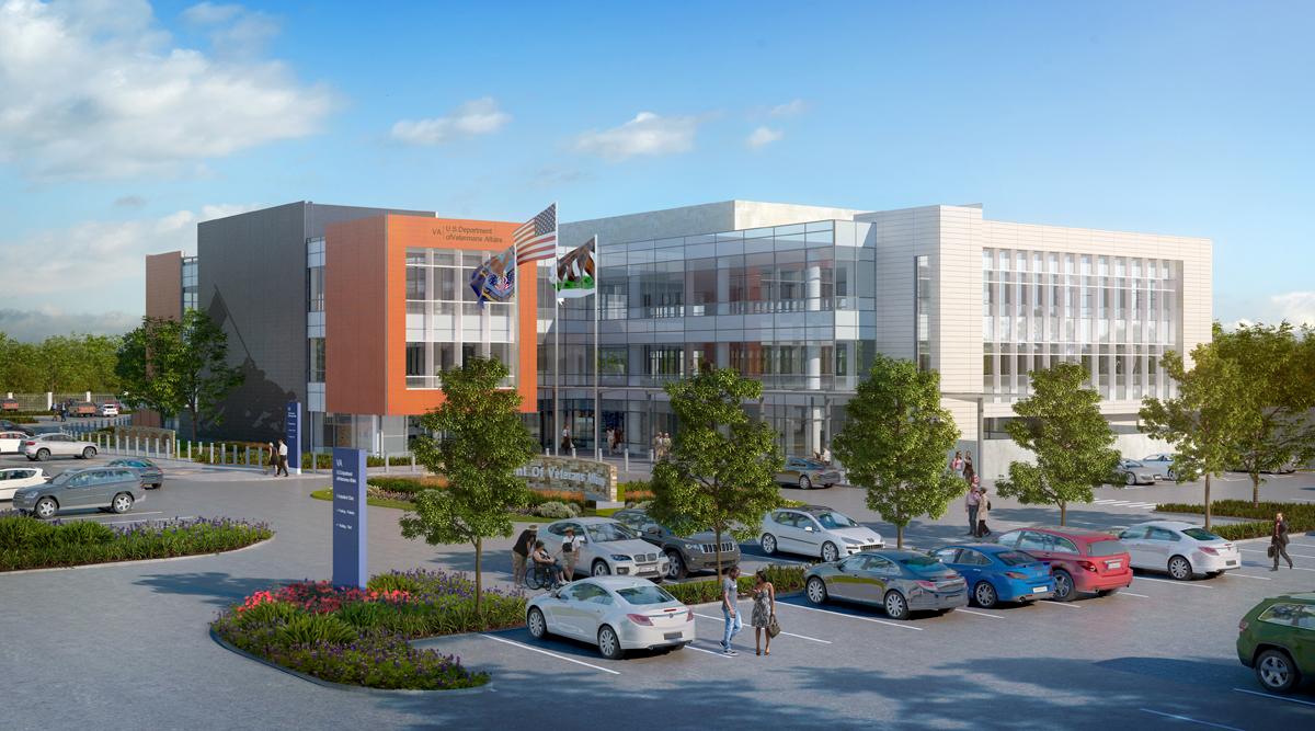 San Jose VA architectural rendering