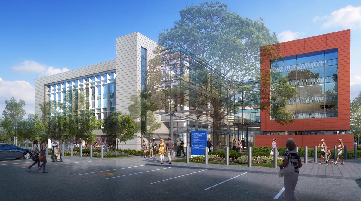 San Jose VA entry rendering