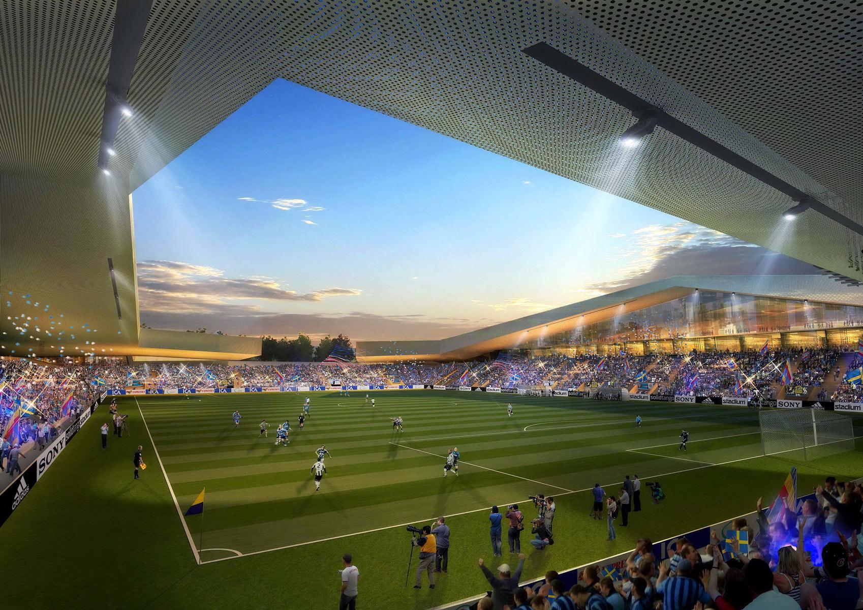 Stadium stadium rendering