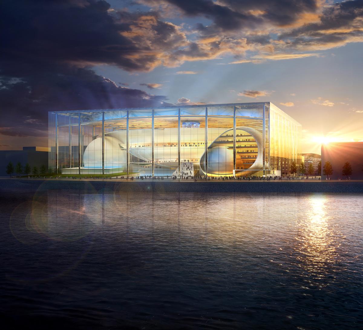 A Arena conceptual digital rendering