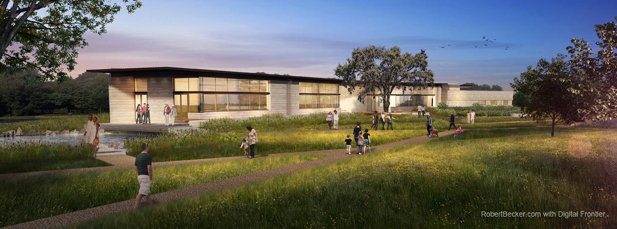 Alameda Creek Watershed Center digital rendering