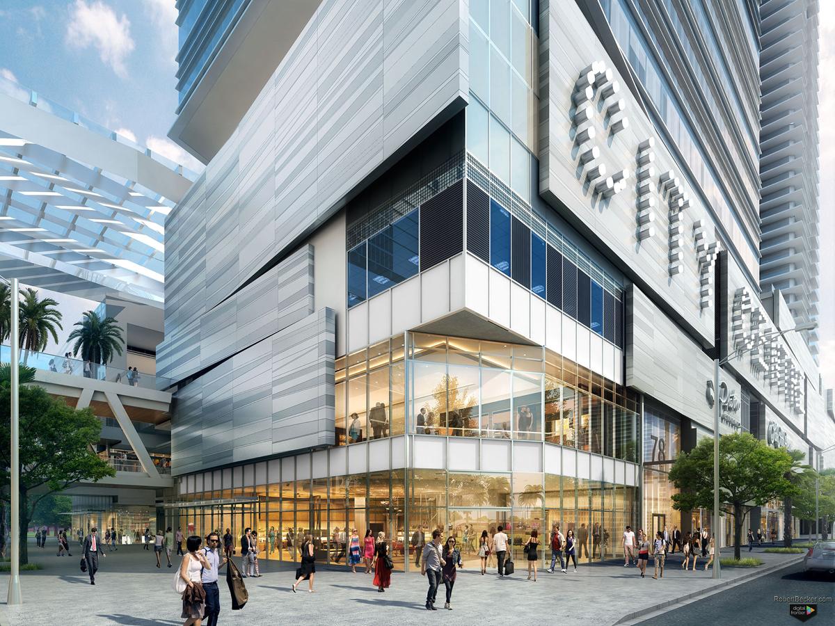 BCC street rendering