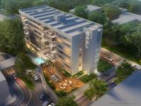 Burlingame Towers Dusk rendering