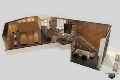 One Empire Pass cutaway digital rendering