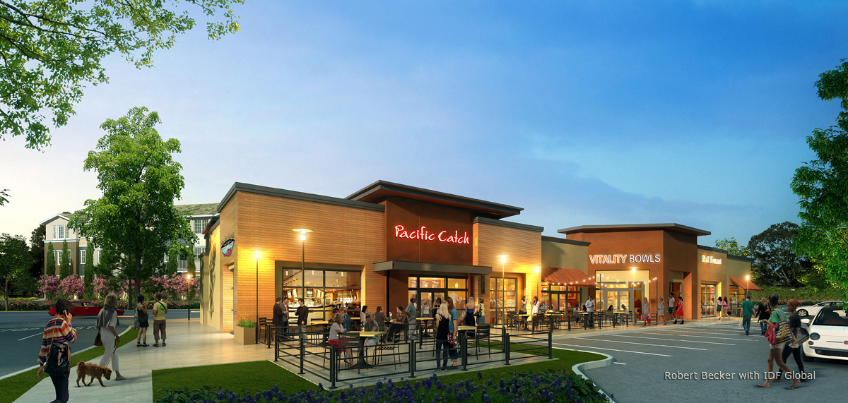 Pacific Vitality photorealistic rendering