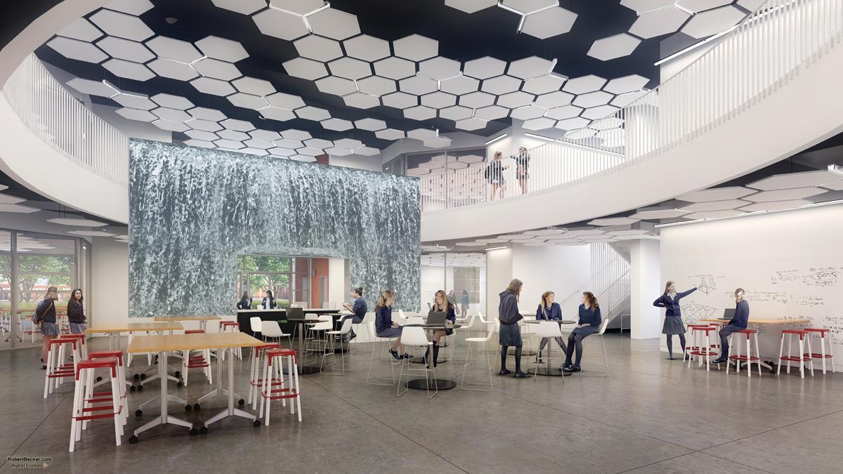 The Jean Hofmann STEM Innovation Center at Carondelet High School
