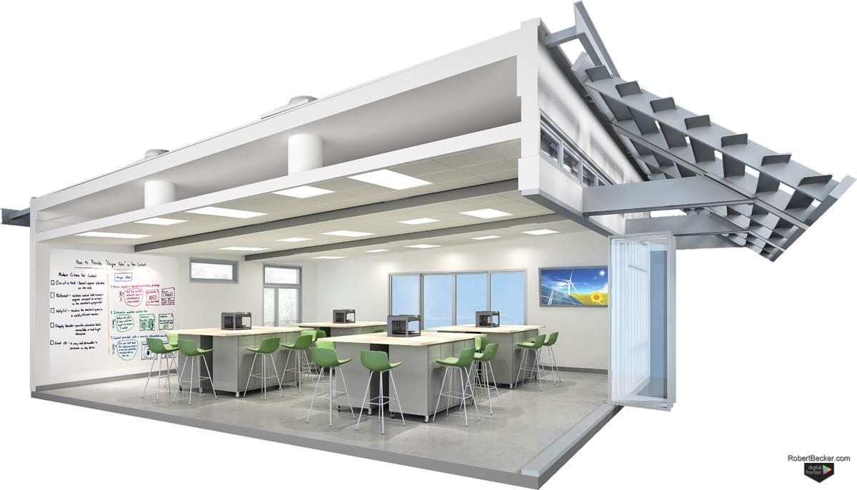 Gen7 STEM cutaway digital rendering