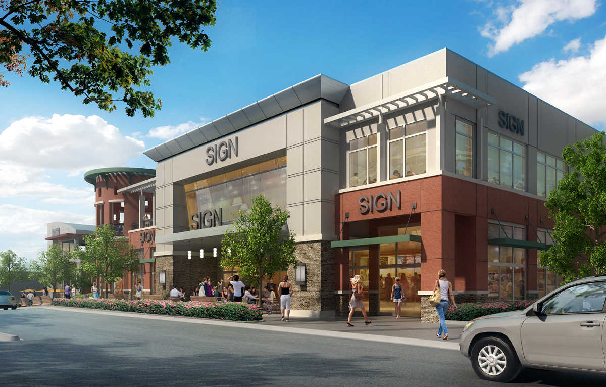 Centre Place South Walnut Creek rendering