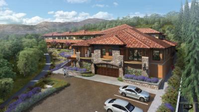 Paloma Lafayette condominiums rendering