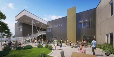Los Altos High School digital rendering