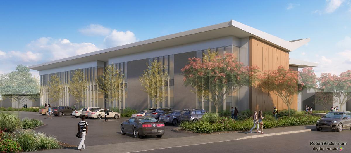 Montgomery High School digital rendering