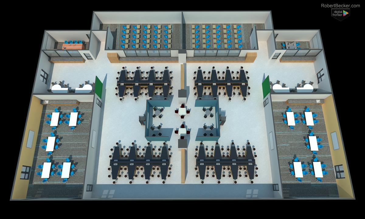 cutaway digital rendering