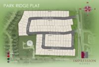 Park Ridge plat rendered site plan