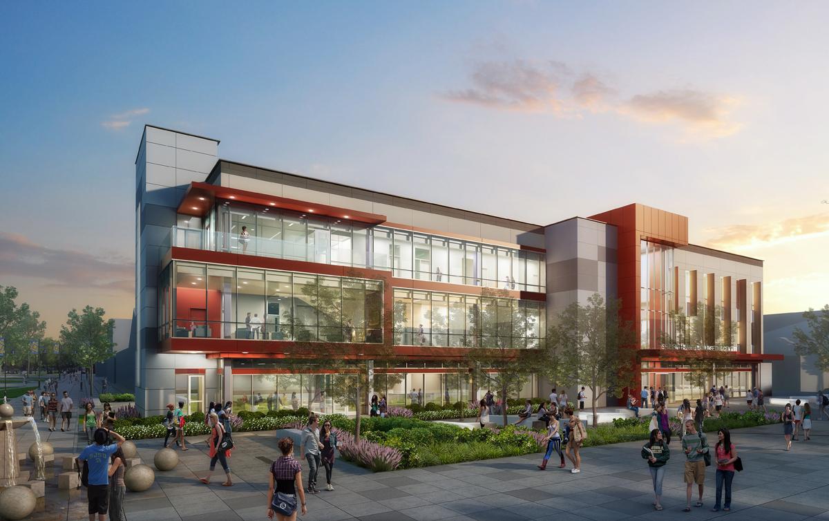 SJSU Student Health Center digital rendering
