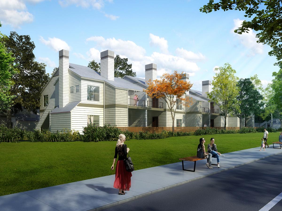 Summerhill Townhomes rendering