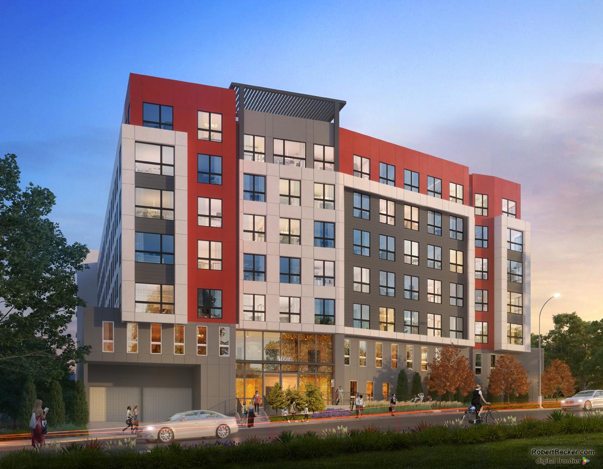 UNR student housing rendering