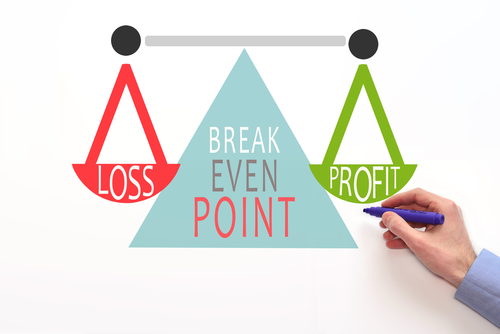 When do you achieve breakeven?