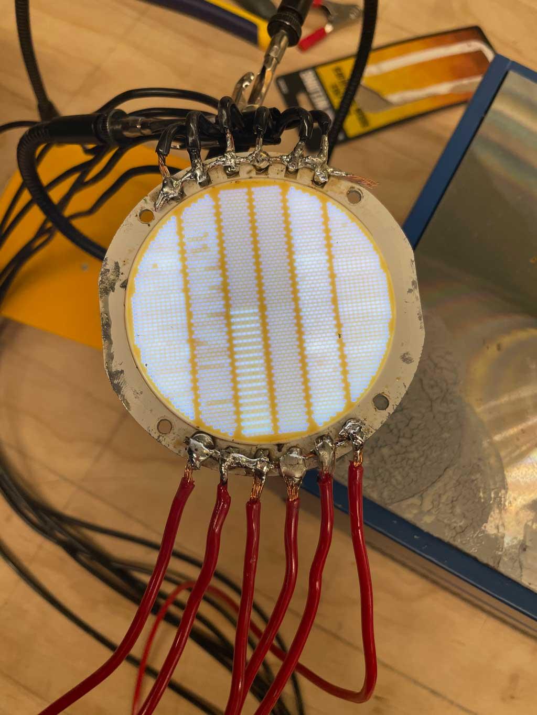 Solder Both Bridge LED
