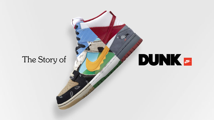 Nike The Story of Dunk