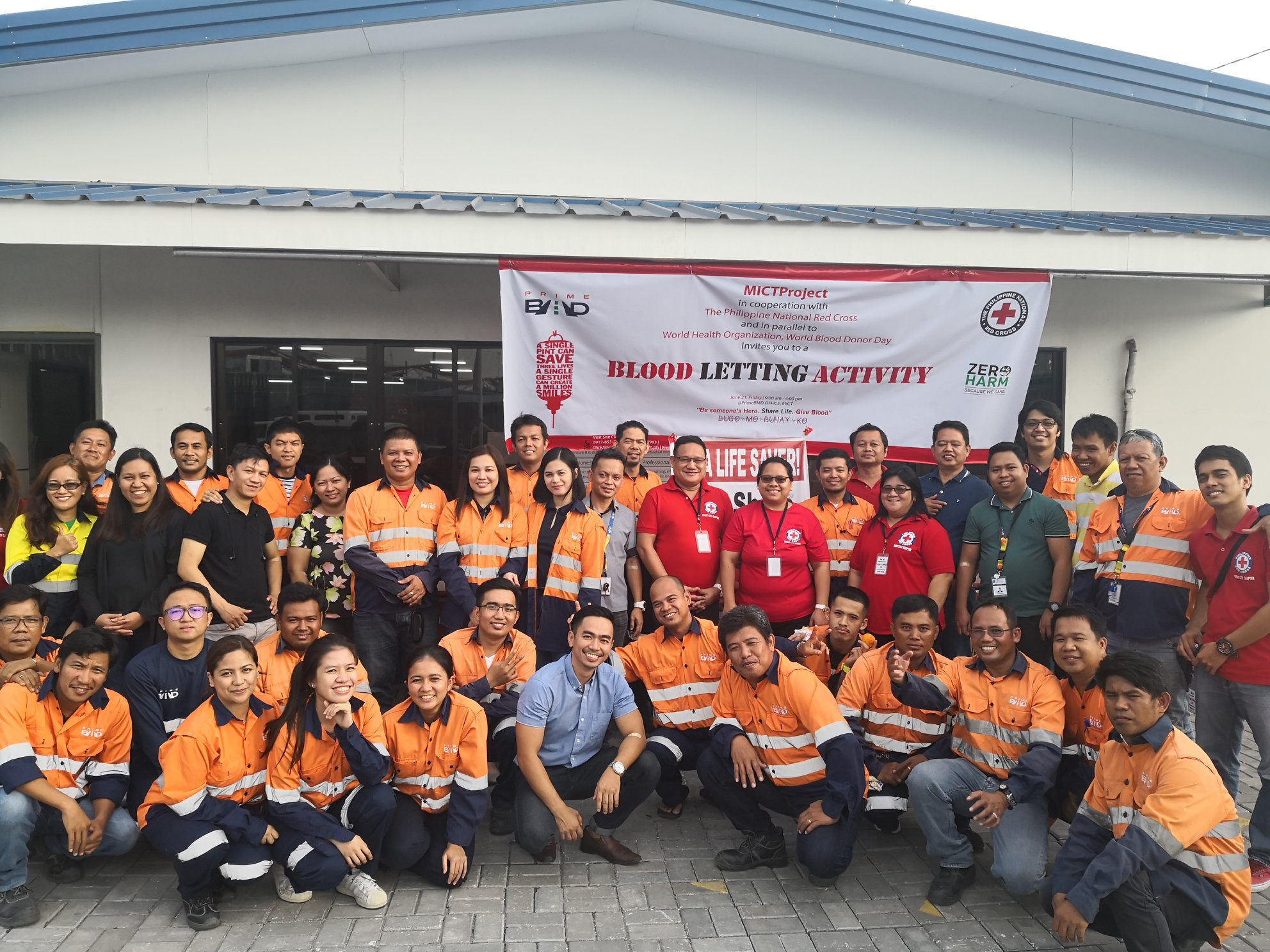 PrimeBMD participates in Blood Letting Drive.