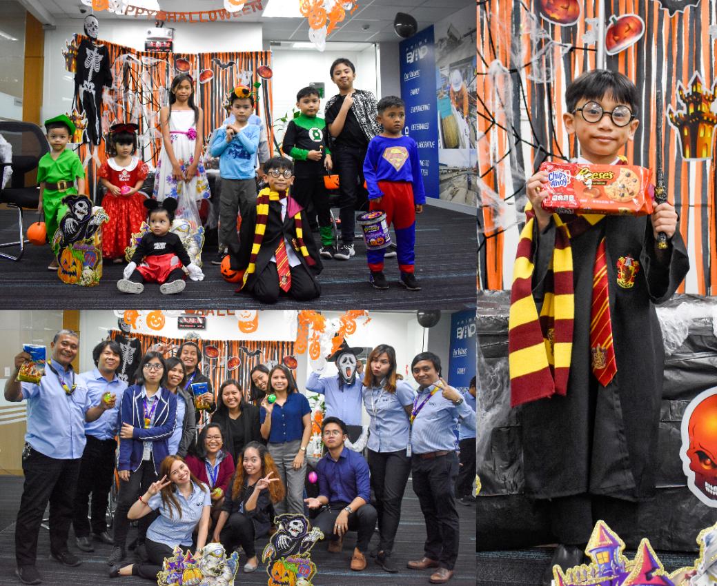 PrimeBMD celebrates Halloween with staff's kids