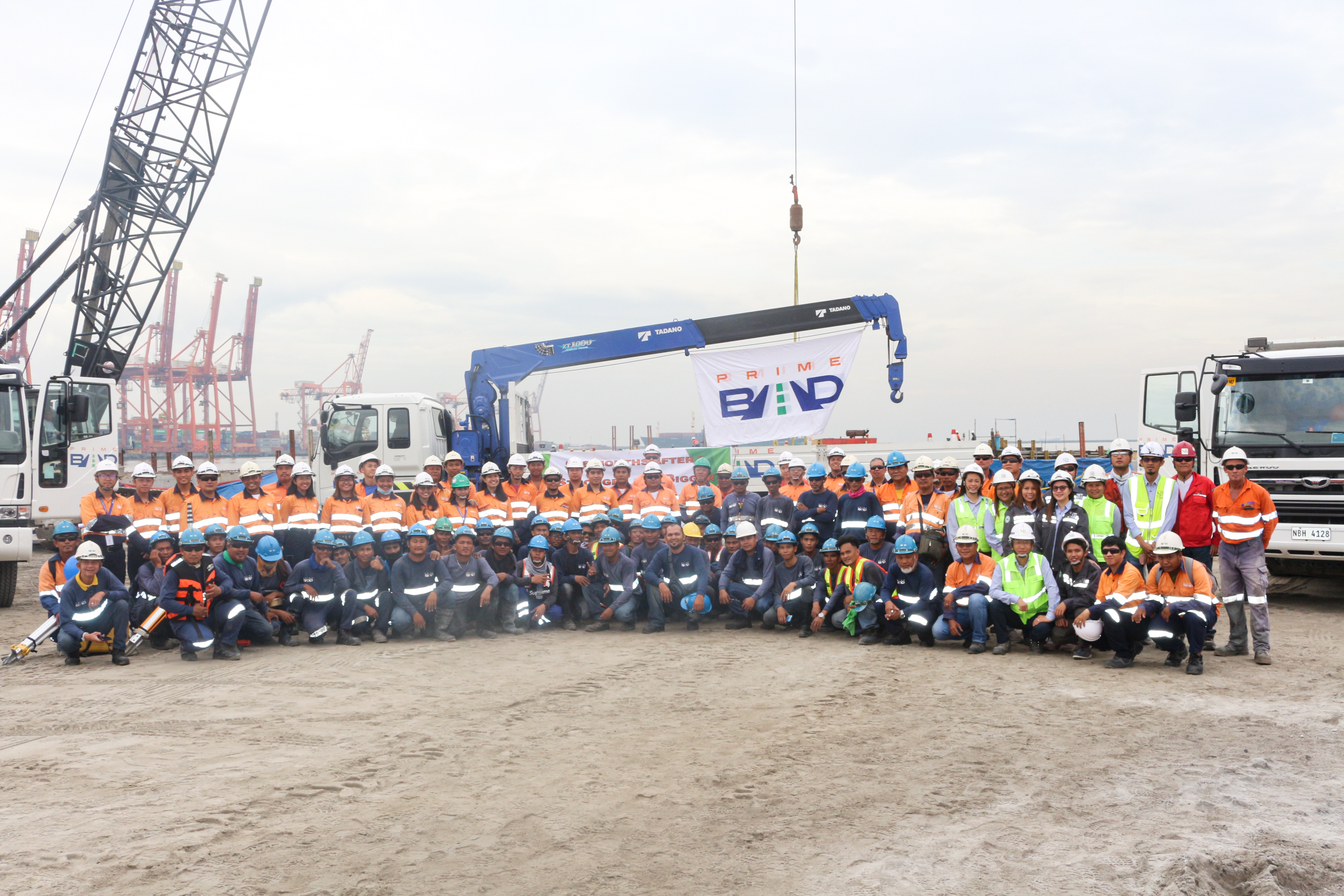 PrimeBMD holds blessing ceremony for heavy equipment