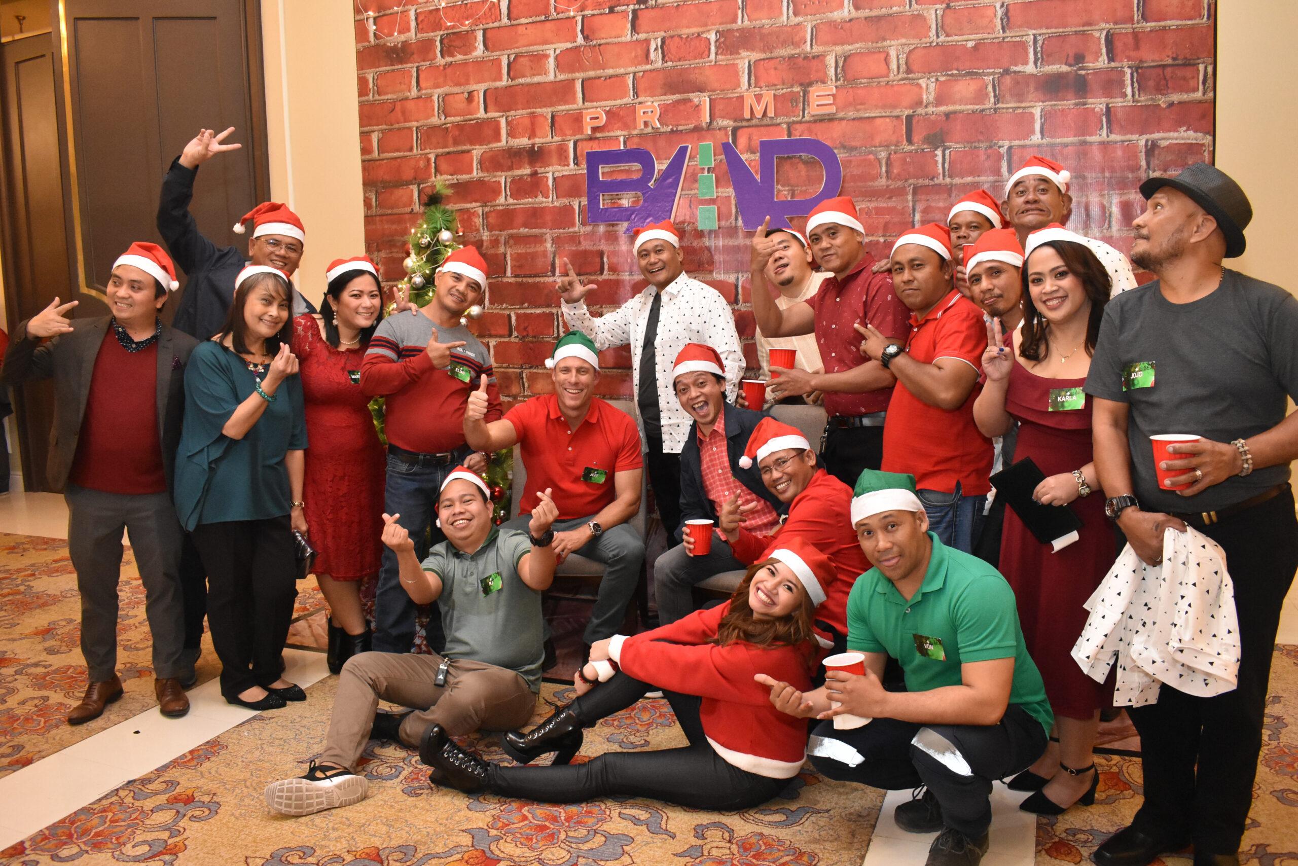 PrimeBMD celebrates Christmas at Rizal Park Hotel