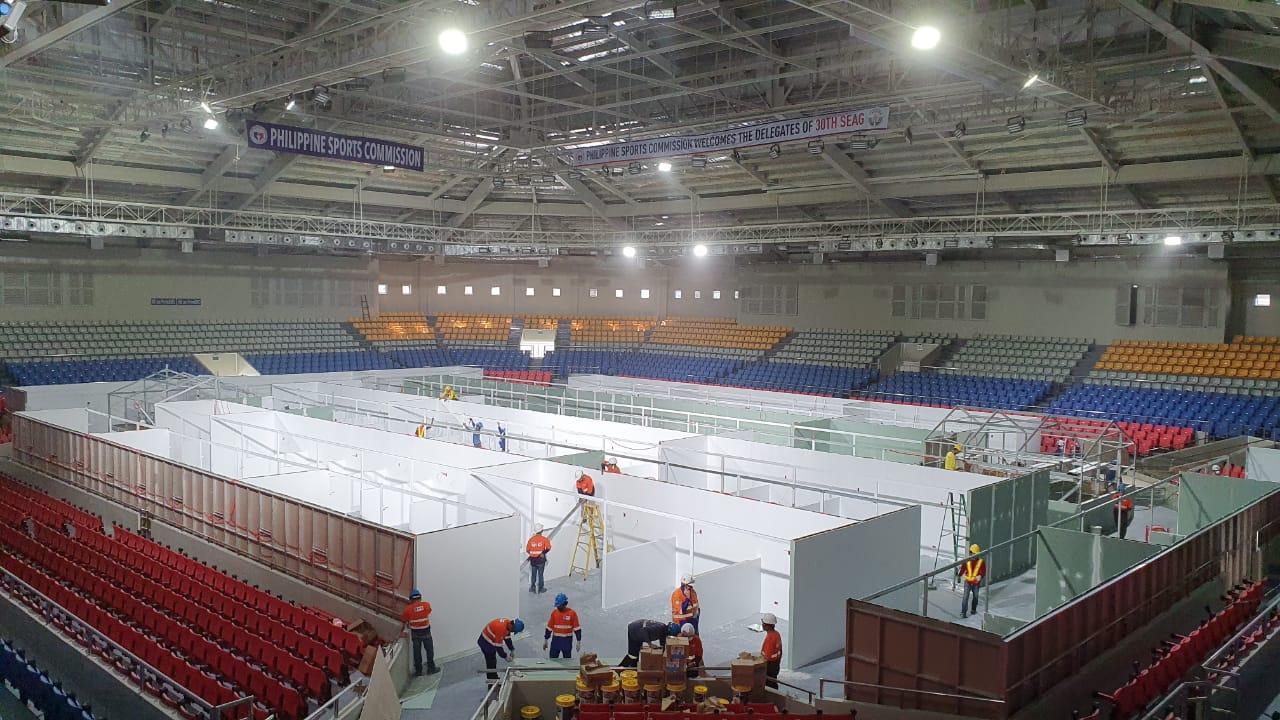COVID 19 Facilities – Ninoy Aquino Stadium