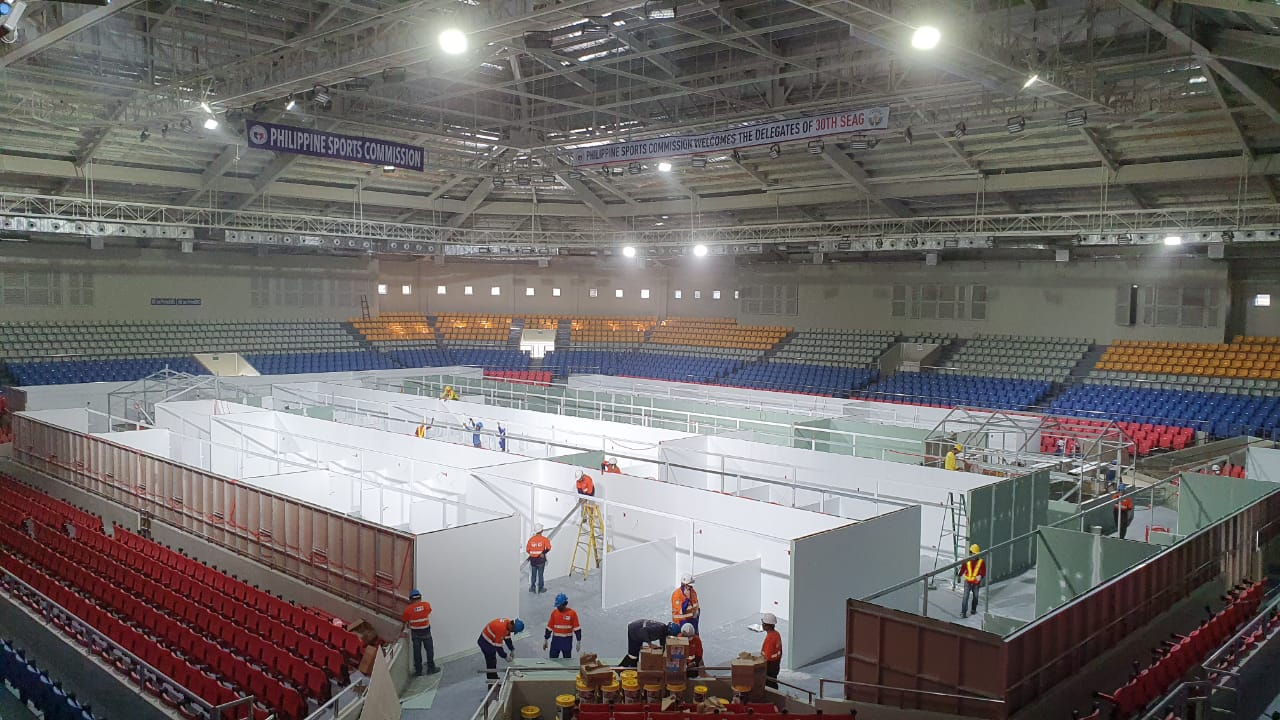 COVID 19 Facilities – Ninoy Aquino Stadium