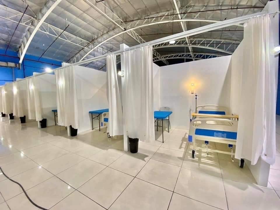 PrimeBMD retrofits Eva Macapagal Super Terminal as COVID -19 Facility