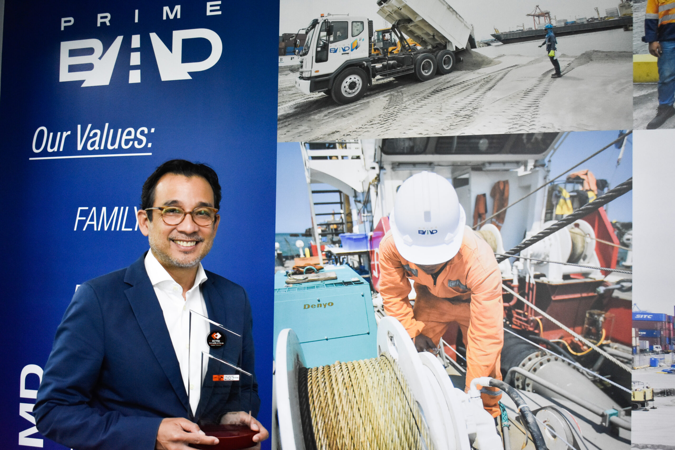 PrimeBMD wins 12th ICTSI Supplier Quality Awards