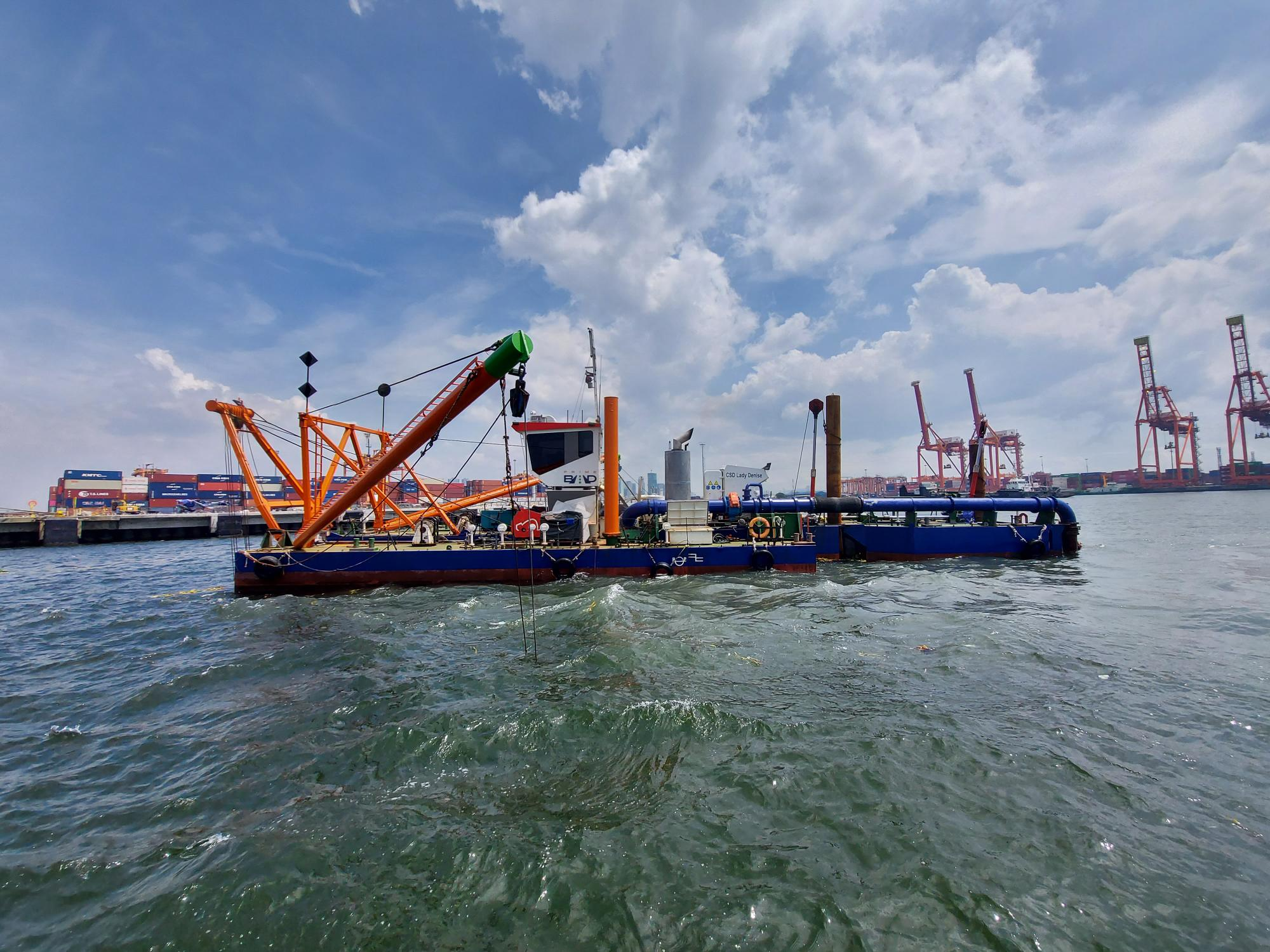 PrimeBMD on self-performing dredging works