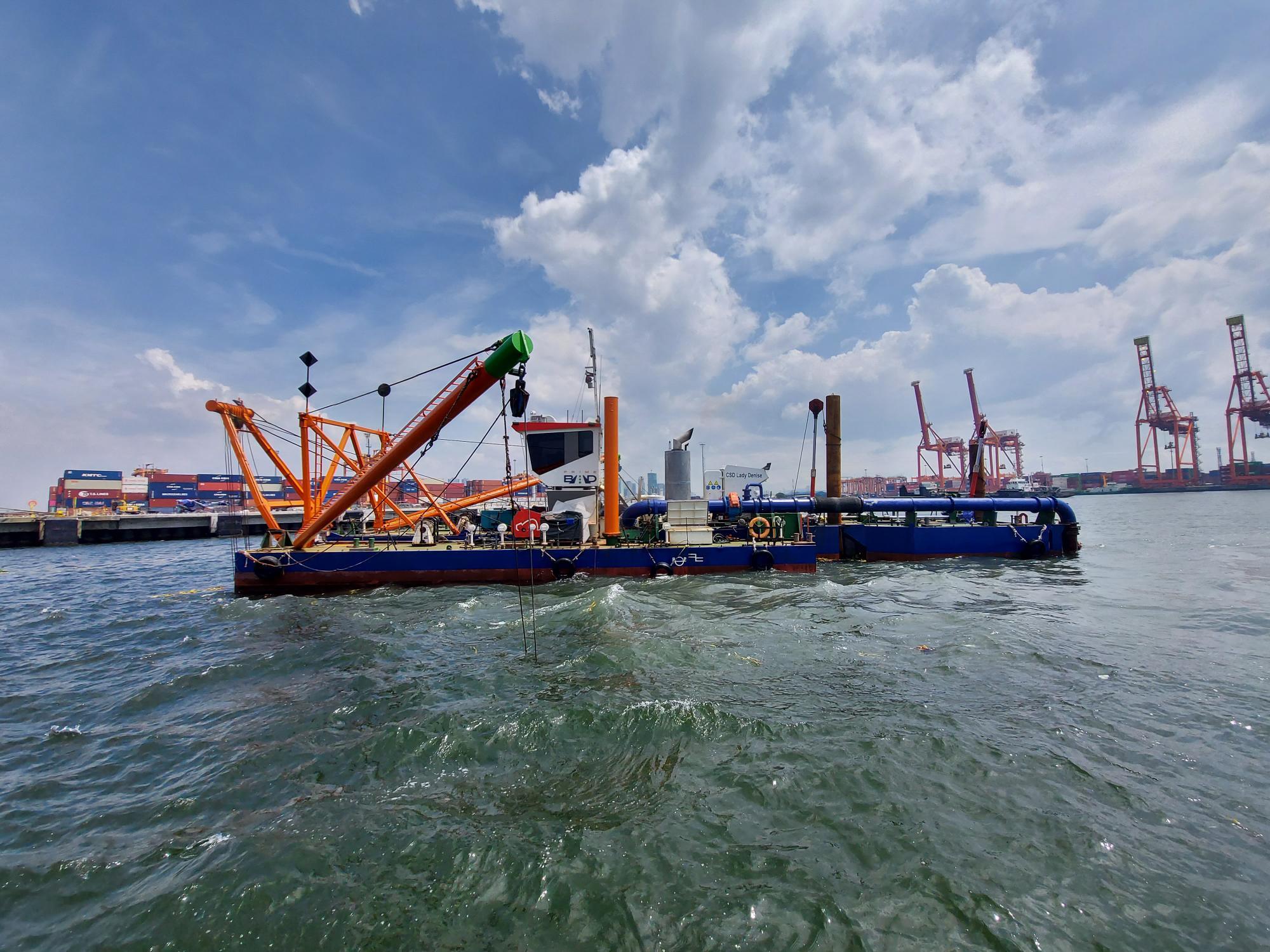 PrimeBMD on self-performing dredging works