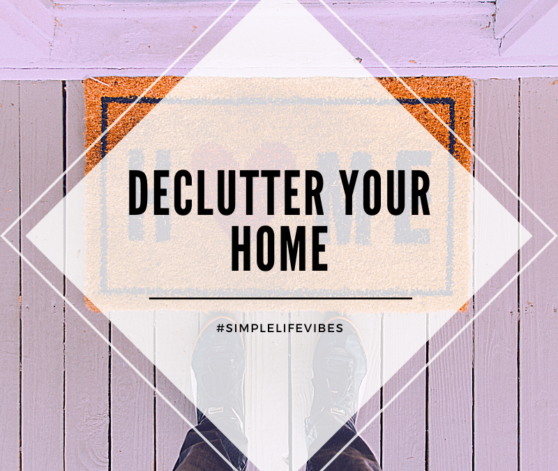 20 Spaces To Declutter In Your Home in 2020